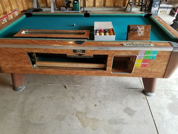 Used Foot Valley Pool Table For Sale In Sandwich Letgo - Valley pool table coin mechanism
