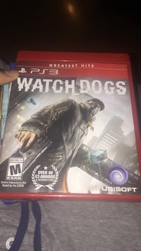 Watch Dogs PS3 game case Windsor Mill, 21244