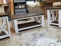 Farmhouse coffee table with two end tables.  Springfield, 45506