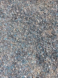 Blue Rubber Mulch