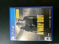 [PS4] A Way Out Beaverton, 97008