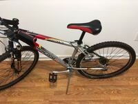 black and red hardtail mountain bike Simpsonville, 29681