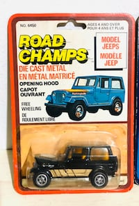 Very Rare! 1970s Road Champs Yatming Die Cast Metal Cast!