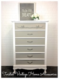 Refinished Vintage Chest of Drawers St Albert, T8N 2E3