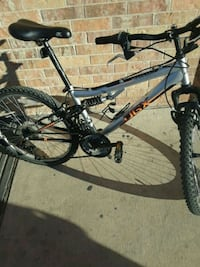 black and gray full-suspension bike Austin, 78758
