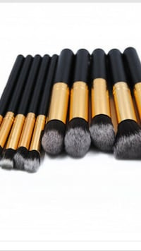 10 pieces Brand new Makeup brushes  Markham, L3S 3Y9
