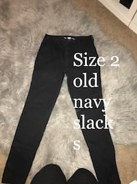 black denim Old Navy slack