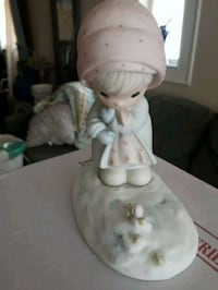 white and pink ceramic figurine London, N5W 4T7
