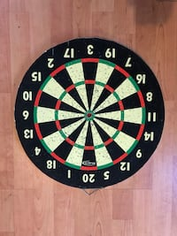 black, white, and green dartboard Brentwood, 94513