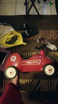 Kids radio flyer racing car