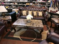 sofa loveseat and chair coffee table and 2 end tab New Orleans, 70117