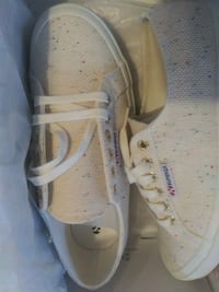 Womens Superga Shoes size 8-half brand new in box.