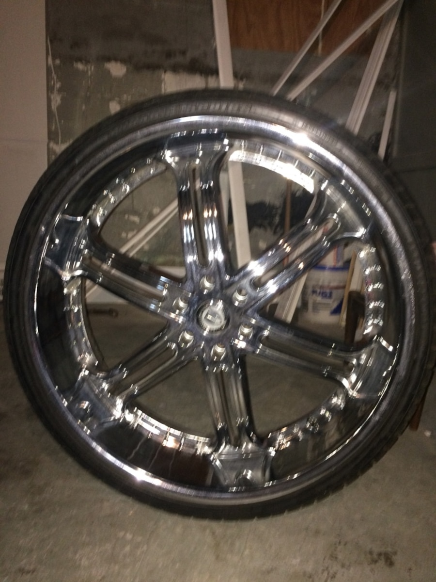 Used 30 Inch Rims : Used inch versante rims lug in east chicago