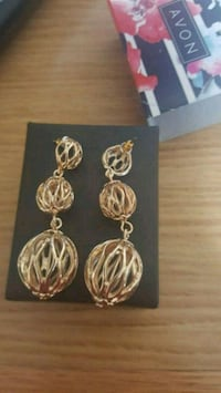 Avon Ball Earrings.  New. Edmonton, T6M 2G7