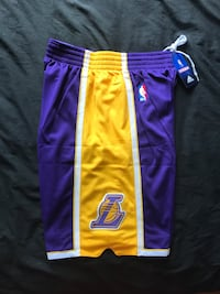 ****BRAND NEW LOS ANGELES LAKERS NBA SHORTS***** Boston, 02135