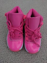 New Pink Jordan 11 XI Girls Size 1y Rockville
