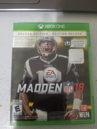 XBOX Madden NFL 18 Deluxe Edition Burnaby, V3N 2K5