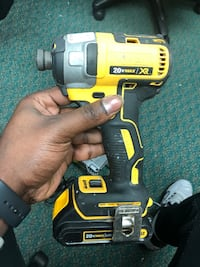 Impact Driver, Tools-Power Dewalt W/Battery No Charger.. Negotiable