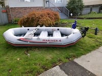 inflatable boat. Price drop today only