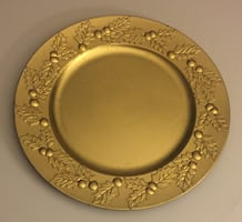 Set of 5 home Decor plates for table
