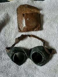 Real antique steampunk welding goggles Edmonton, T6E 3M3