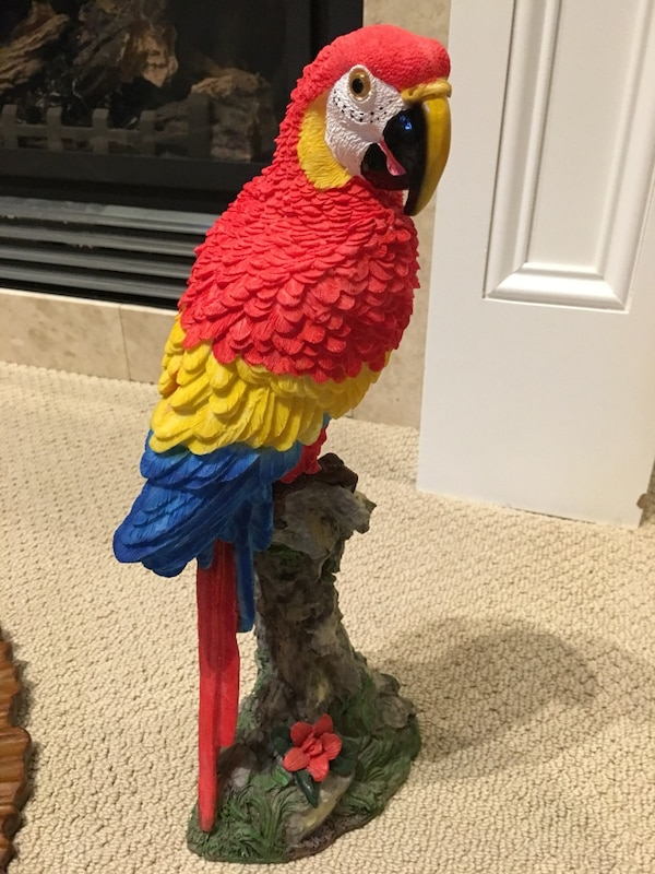Beautiful Parrot Decor (Very Realistic)