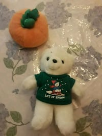 white and green bear plush toy Palmdale, 93551