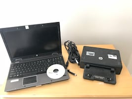 Laptop Computer with Docking Station