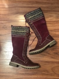 Banff Trail Water Resistant Boots Size 40