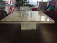 Marble coffee table St Catharines