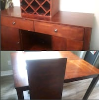Dining table and server Mississauga, L5N 3H6