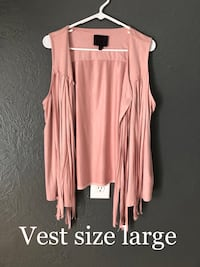 women's pink sleeveless dress Colorado Springs, 80917
