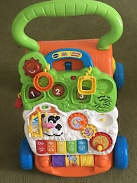 baby's multicolored activity walker Midway, 37809