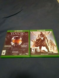 two Xbox One game cases Ajax, L1S 5C8