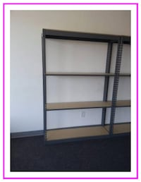 Warehouse Parts Shelving 48 in W x 12 D Garage Storage Size Los Angeles