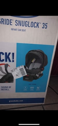 black and gray Graco car seat carrier box Compton, 90222