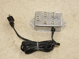 Coax Cable Splitter & Amplifier for Cable TV