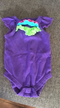 purple and green onesie with bow accent Mechanicsville, 23111