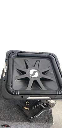 Black and gray kicker subwoofer Grovetown, 30813