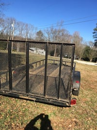 Black and brown utility trailer Hartwell, 30643