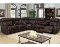 Gin Rummy 3 pc Sectional - Mocha Ontario