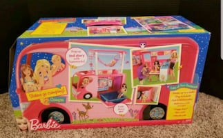 NIB Barbies Sister's Go Camping~Very Rare Great Deal!!