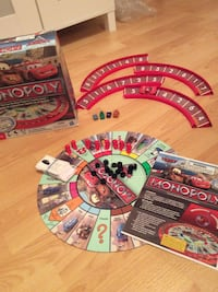 Monopoly Disney Cars toy set with box North Vancouver, V7L 2L5