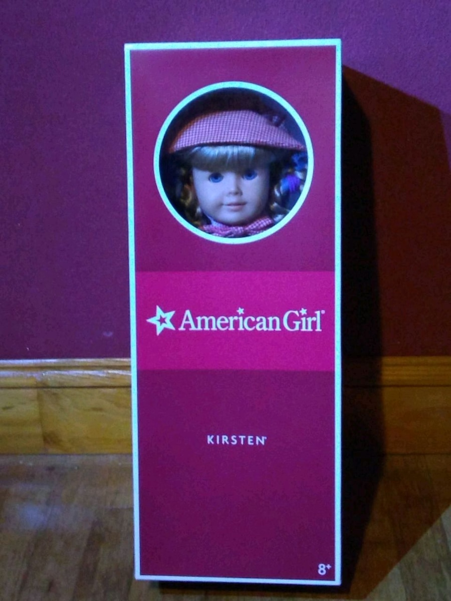Photo Original Historical Kirsten 18 in American Girl doll