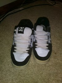pair of white-and-black Nike basketball shoes Newark, 60541