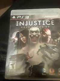 Injustice among us PlayStation