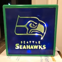 Seahawks light box