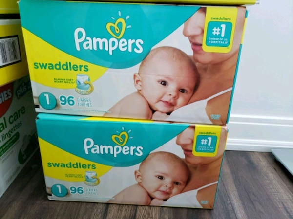 Pampers Diapers Size 1, Swaddlers
