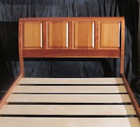 Solid Cherry Queen Bed Frame Portland