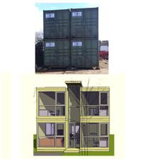 High-cube Shipping Containers 40ft Long GLASGOW